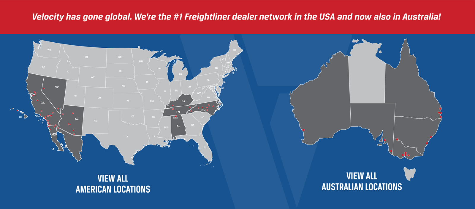 Truck Dealers in California,Nevada and Arizona - Velocity Vehicle Group